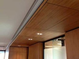 Ultraflex Panelling provides complete material and service support for QLD office fitout project