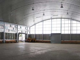 Spantech constructs enclosed multipurpose hall at Holy Cross Primary School, Wooloowin