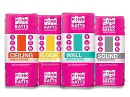 New packaging for Pink product range simplifying selection