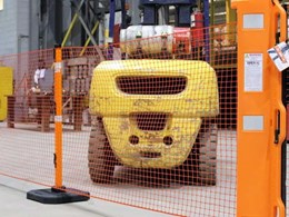 Ultra portable rapid roll barrier system offering safety, efficiency and reusability