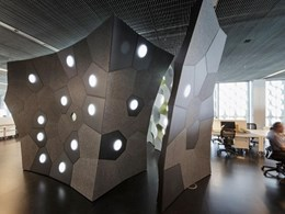 EchoPanel's acoustic panels minimise echo at FabPod, RMIT