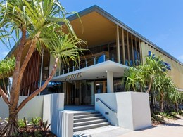 Louvre windows provide secure and compliant ventilation at Gold Coast Surf Club