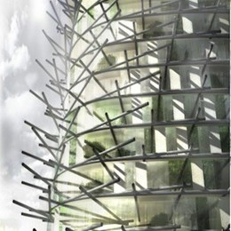 Organic London skyscraper incorporates occupant's recycling