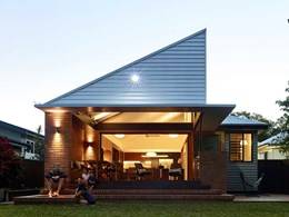 Bricks help renovated post-war Brisbane cottage retain heritage character