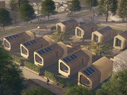 'Shifting Nests' by bla design group are sustainable, prefab micro-homes for unaffordable cities