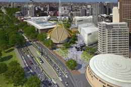 Hassell and NH Architecture design new Southbank arts precinct and theatres