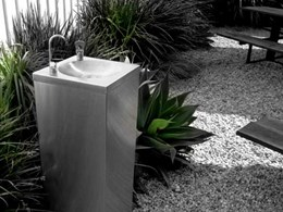 Drinking fountains for high traffic public and private spaces