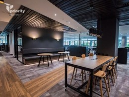 Priority Building's stunning workplace fitout in Driftwood