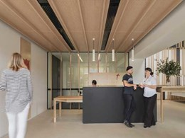 Bates Smart designs a workspace that 'cares for the carers'