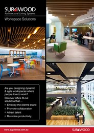 Workspace solutions, dynamic and agile workspaces where people love to work