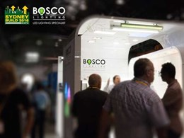 BoscoLighting showcases over 30 lights at Sydney Build 2016