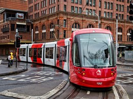 Road testing begins on Sydney's Light Rail