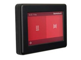 First dual control electric underfloor heating thermostat from Thermogroup