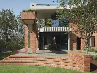 Tjuringa House featuring bricks from the PGH Smooth range