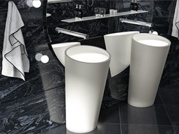 New Mark Gacesa-designed Ultraplane basins with integrated LED from Corian®