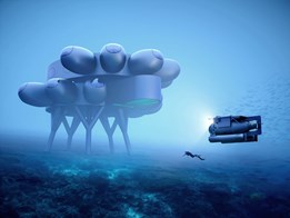 The world's largest and most advanced underwater station