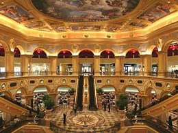 Rondo ceiling systems feature at the US$2.4 billion luxury Venetian Macau hotel