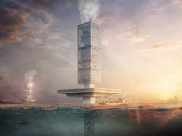 Innovative waste-to-energy skyscraper design