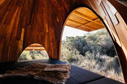 Taylor + Hinds design half-dome dwellings