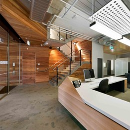 Office Fitout 2013 winner: Carlton Graphic Design Studios by Zen Architects