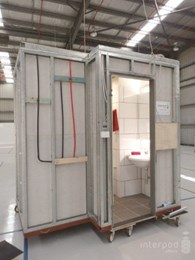 First Australian Tune Hotel installs Interpod modular bathrooms